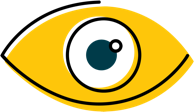 Eyeball icon for Clever Creative's content capability